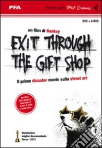 Exit through the gift shop. DVD. Con libro libro di Banksy