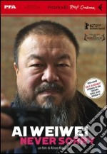 Ai Weiwei. Never sorry. DVD. Con libro libro