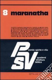 Maranatha libro 1991 unilibro libreria for Librerie universitarie online