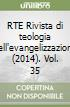 RTE Rivista di teologia dell'evangelizzazione (2014) (35)