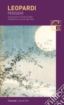 Pensieri libro di Leopardi Giacomo