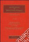 La pratica del processo penale (2) libro