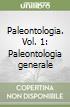 Paleontologia (1) libro
