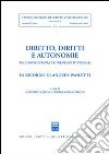 Diritto, diritti e autonomie. Tra Unione Europea e riforme costituzionali libro