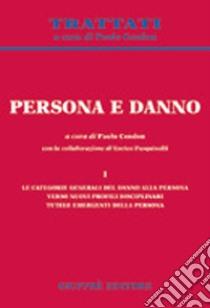 Persona e danno (1) libro