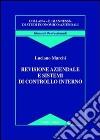 Revisione aziendale e sistemi di controllo interno