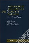 Dizionario biografico dei giuristi italiani (XII-XX secolo) libro