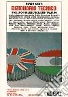 Dizionario italiano-inglese e inglese-italiano libro