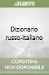 Dizionario russo-italiano libro