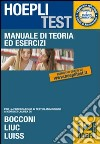 Hoepli test. Manuale di teoria ed esercizi per i test di ammissione all'Universit� (12)