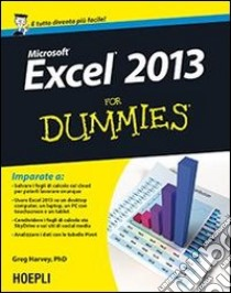 Excel 2013 for dummies libro di Harvey Greg