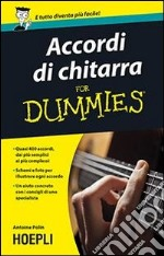Accordi di chitarra For Dummies libro