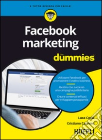 Facebook marketing For Dummies libro di Conti Luca - Carriero Cristiano