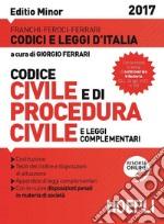 Codice civile. Con procedura civile 2017. Ediz. minore libro