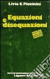 Equazioni e disequazioni libro