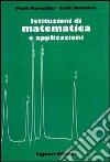 Istituzioni di matematica e applicazioni libro