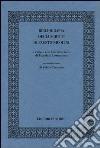 Bibliografia degli scritti di Fausto Nicolini libro