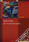 Matematica per le scienze sociali libro