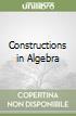 Constructions in Algebra libro
