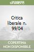 Critica liberale n. 99/04 libro