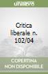 Critica liberale n. 102/04 libro