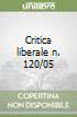 Critica liberale n. 120/05 libro