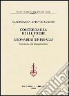 Concordanza delle poesie di Leonardo Sinisgalli. Concordanza, lista di frequenza, indici libro