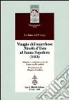 Viaggio del marchese Nicolò d'Este al Santo Sepolcro (1413) libro