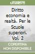 DIRITTO ECONOMIA E REALTA' 2  libro
