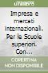 IMPRESA MERC INTERNAZ 1 SET (VOL + ALL + libro