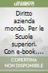 DIRITTO AZIENDA MONDO 3 SET MINOR libro