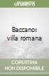 Baccano: villa romana libro