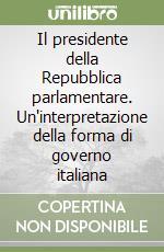 Chessa omar libri di omar chessa for Repubblica parlamentare italiana