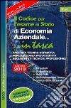 Il codice per l'esame di Stato di economia aziendale