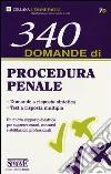 340 domande di procedura penale libro