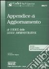 Appendice di aggiornamento al codice delle leggi amministrative libro