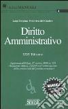 Diritto amministrativo libro