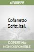 COFANETTO SCRITT.ITAL. libro
