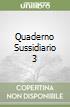 QUADERNO SUSSIDIARIO 3 libro