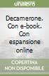 Decamerone. Con e-book. Con espansione online libro