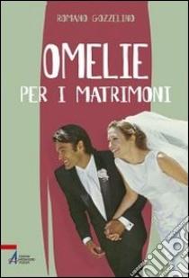 Omelie per i matrimoni libro di Gozzelino Romano