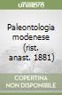 Paleontologia modenese (rist. anast. 1881) libro