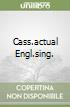 CASS.ACTUAL ENGL.SING. libro