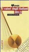 I valori degli italiani 2013. Il ritorno del pendolo