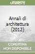 Annali di architettura (2012)