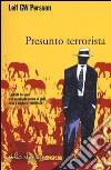 Presunto terrorista libro