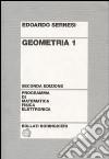 Geometria. Vol. 1 libro