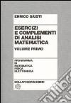 Esercizi e complementi di analisi matematica. Vol. 1 libro