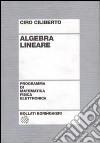 Algebra lineare libro