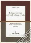 Balzac e Manzoni e altri studi su Balzac e l'Italia libro